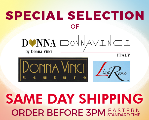 Donna Vinci Special Same Day Shipping