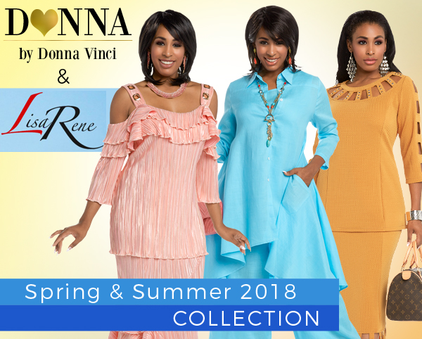 Donna By Donna Vinci And Lisa Rene Spring And Summer 2018 Limited Quantities