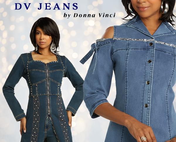Donna Vinci Jeans Fall 2019