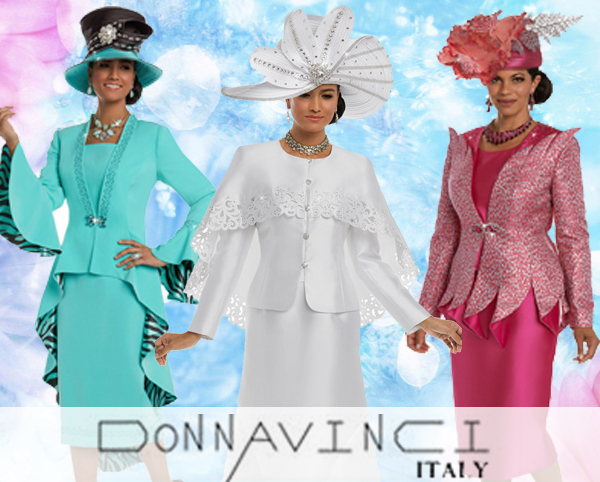 Donna Vinci Suits Spring And Summer 2018 Limited Quantities