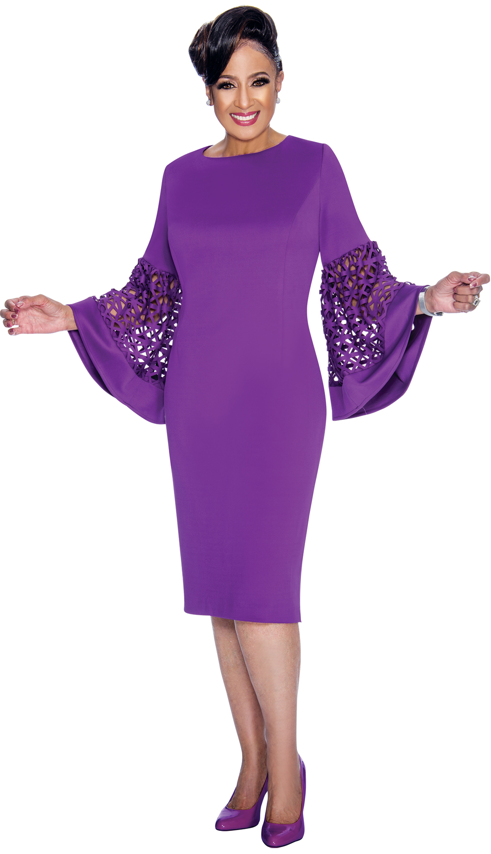 Dorinda Clark-Cole Dress 1861-BCO