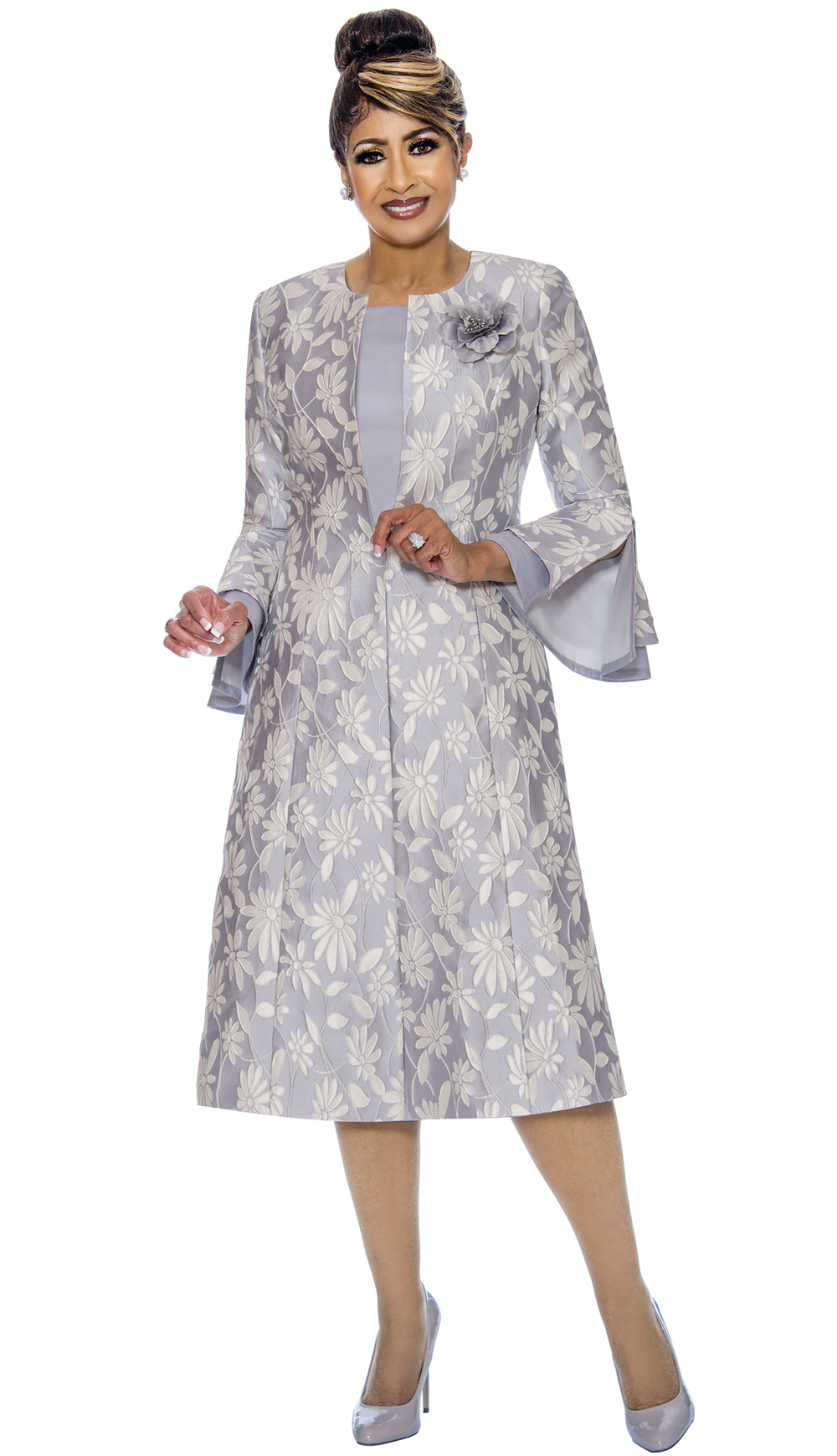 Dorinda Clark-Cole Dress 1772-SIL