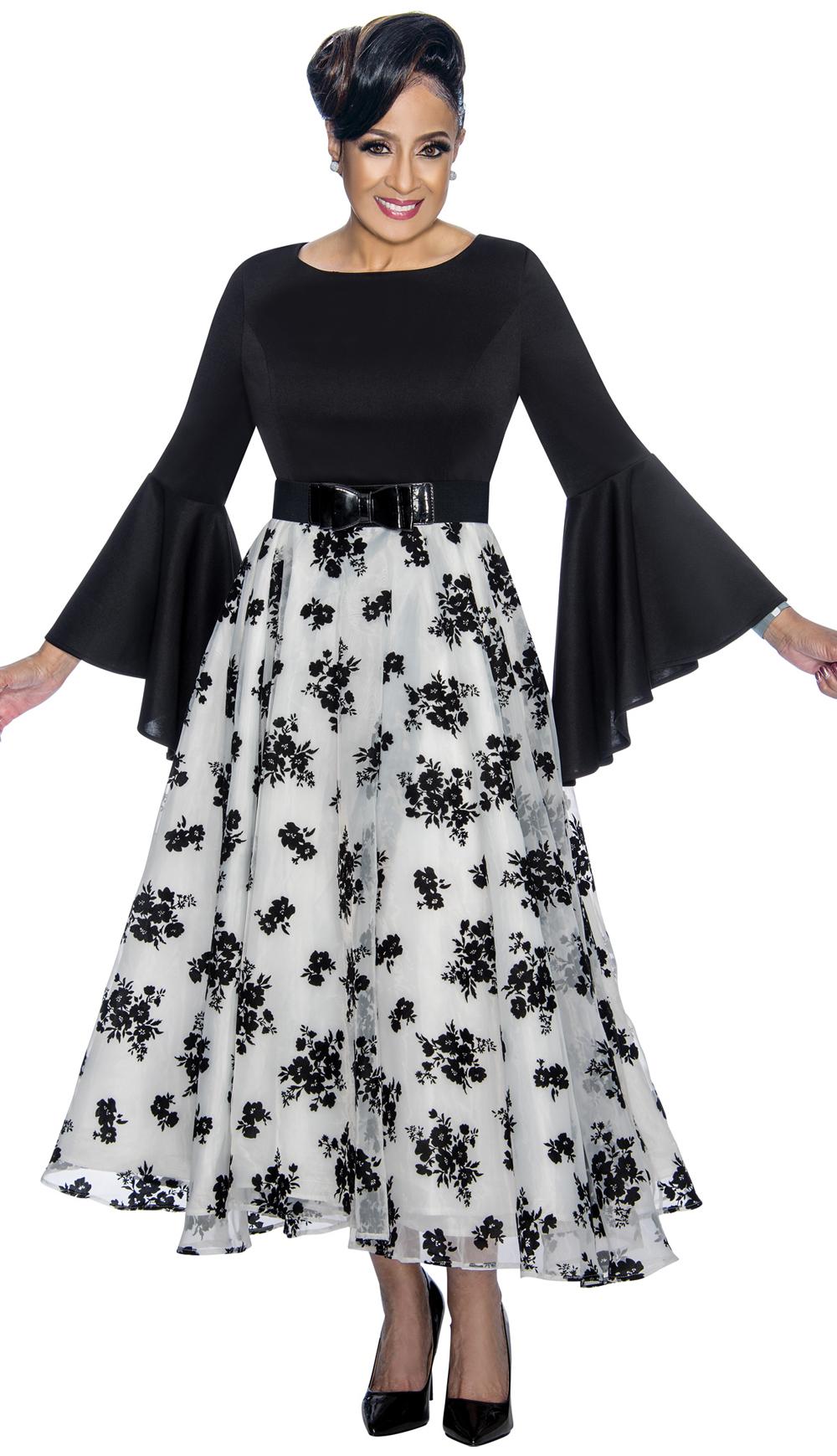 Dorinda Clark-Cole Dress 1831-BLK