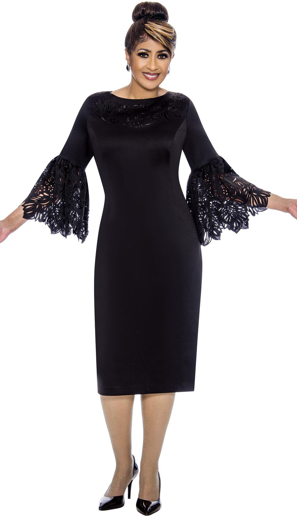Dorinda Clark-Cole Dress 1921-BLK