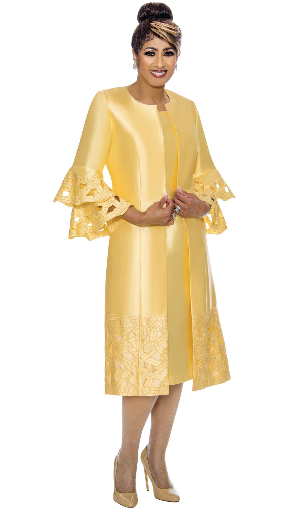 Dorinda Clark-Cole Dress 1932-YEL