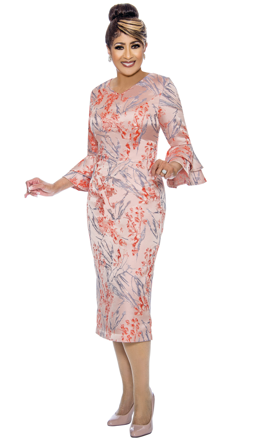 Dorinda Clark-Cole Dress 1981-MUL