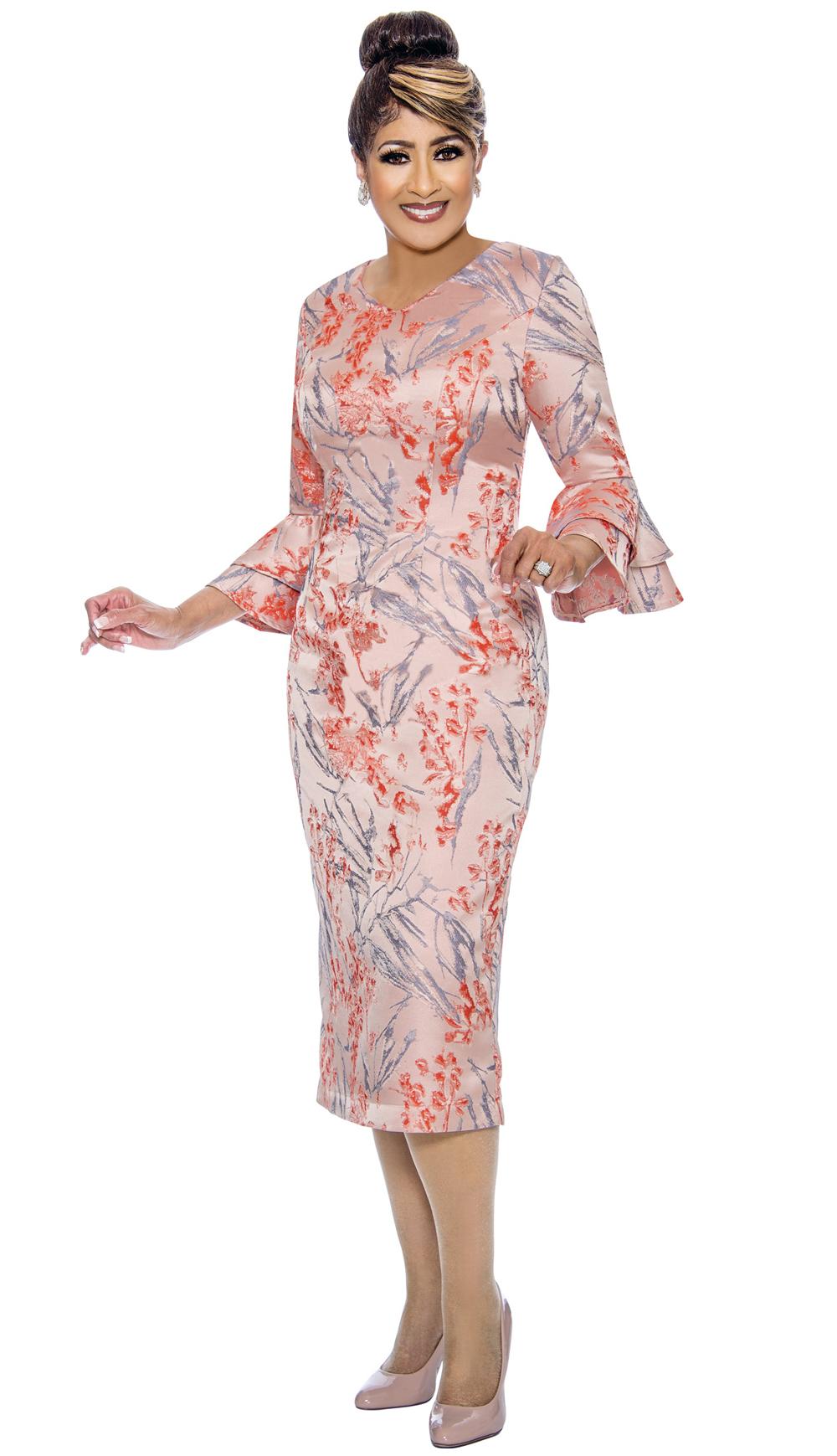 Dorinda Clark-Cole Dress 1981-MUL