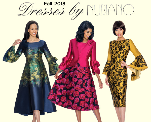 Dresses by Nubiano Fall Collection