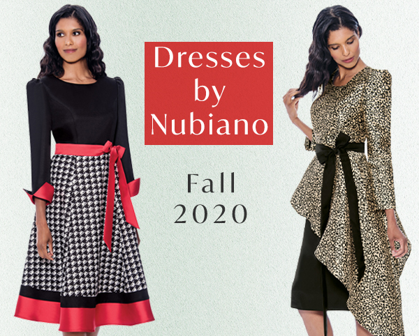 Dresses by Nubiano Fall 2020