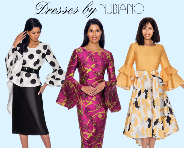 Dresses by Nubiano Spring and Summer 2019