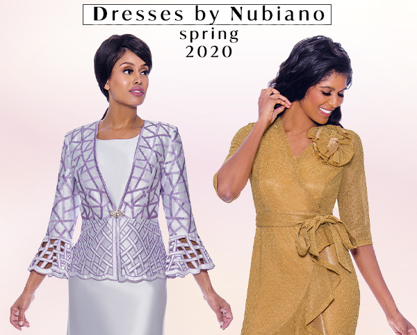 Dresses by Nubiano Spring 2020