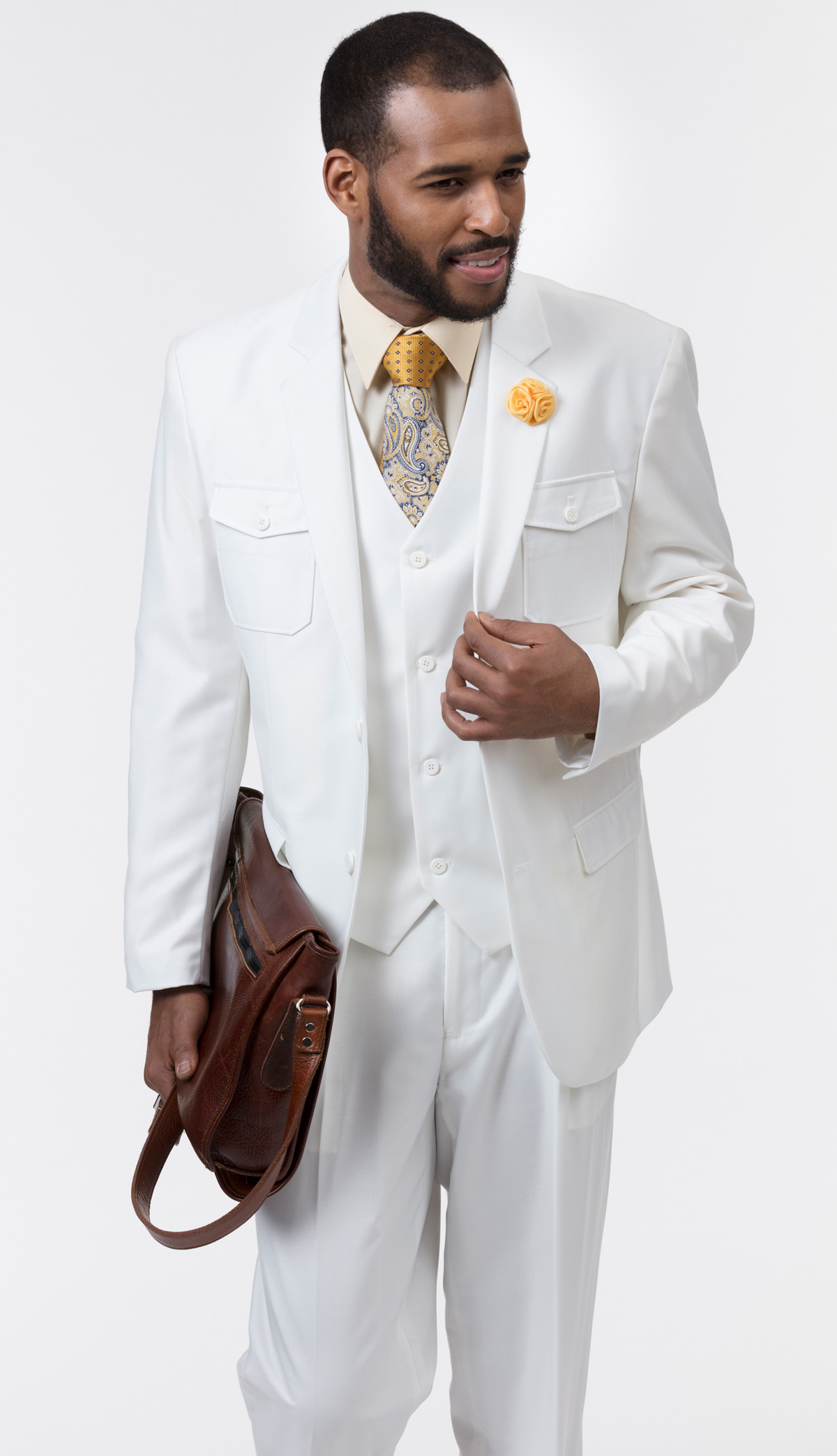 Mens Suit By EJ Samuel M2686