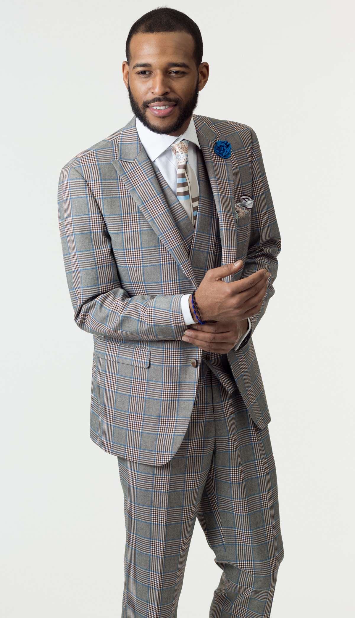 Mens Suit By EJ Samuel M2710
