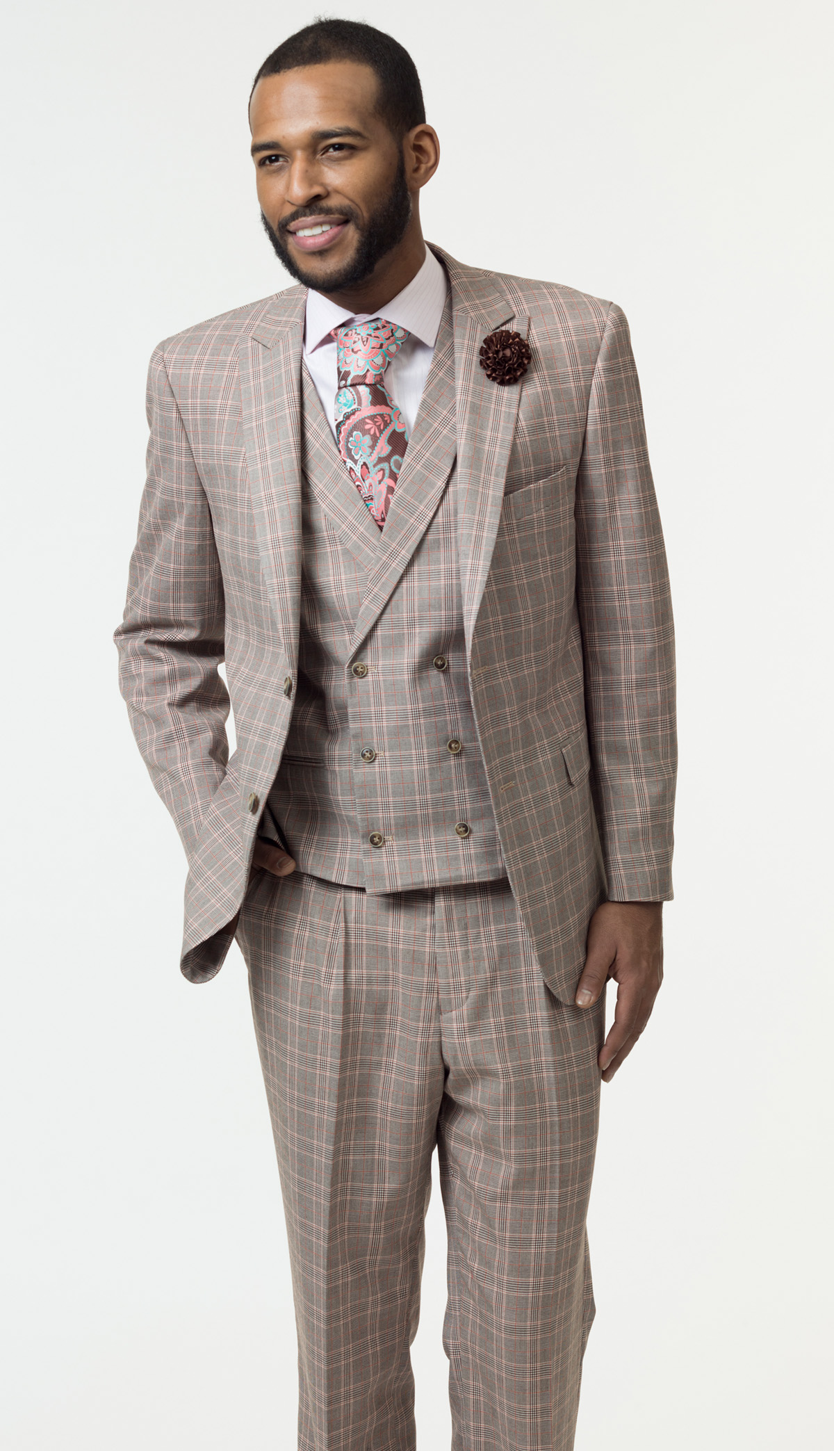 Mens Suit By EJ Samuel M2711