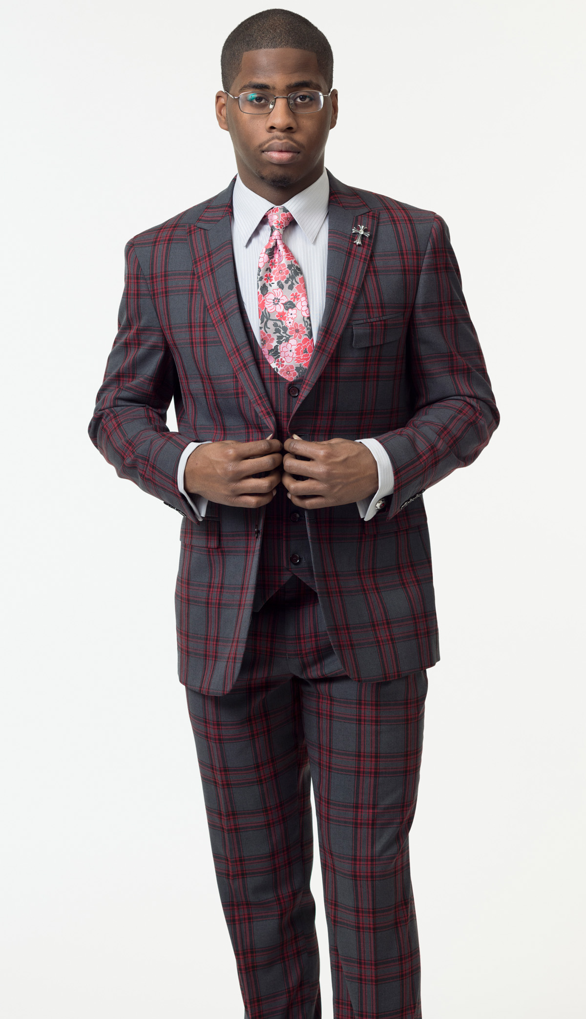Mens Suit By EJ Samuel M2712