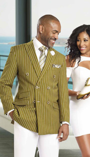 Mens Suits By EJ Samuel M2707-OL
