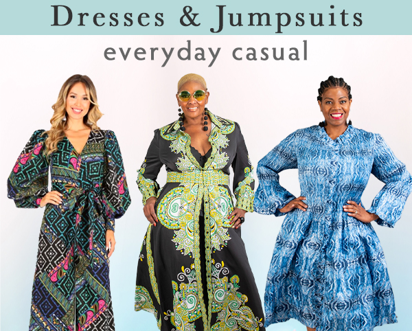 Casual Dresses and Jumpsuits