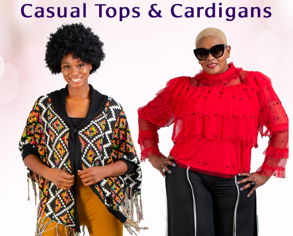 Casual Tops and Cardigans