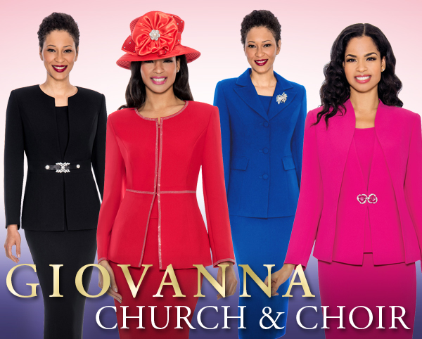 Giovanna Church And Choir Group Suits Spring And Summer 2018