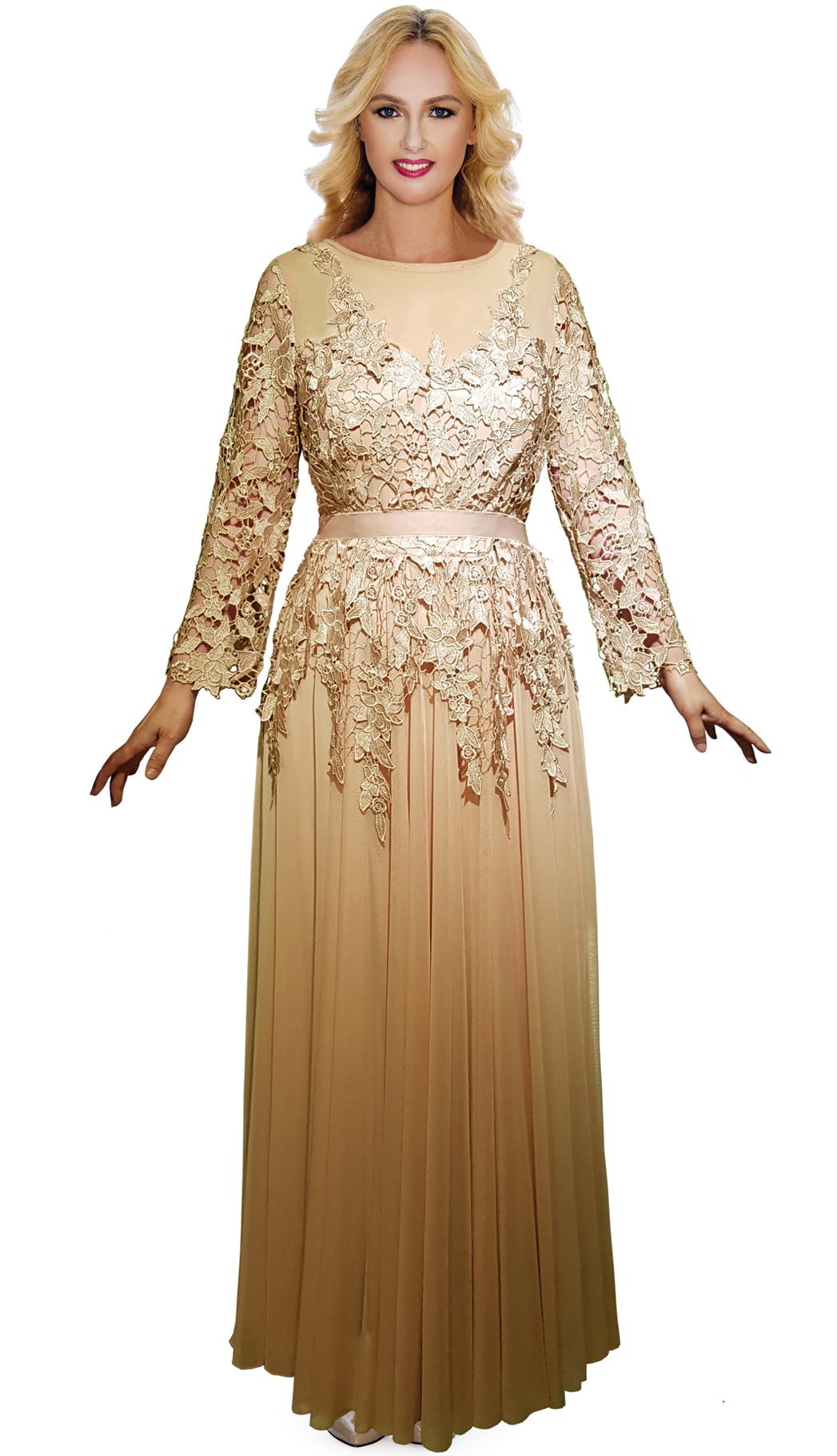 Giovanna Dress D5005-CHA