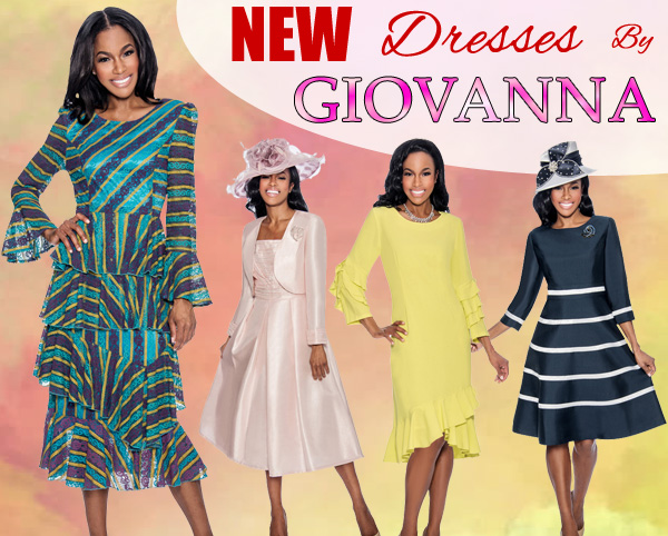 Giovanna Spring And Summer Womens Church Dresses 2018