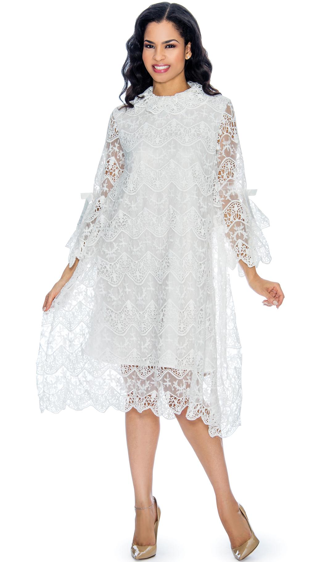 Giovanna Dress D1321-WH