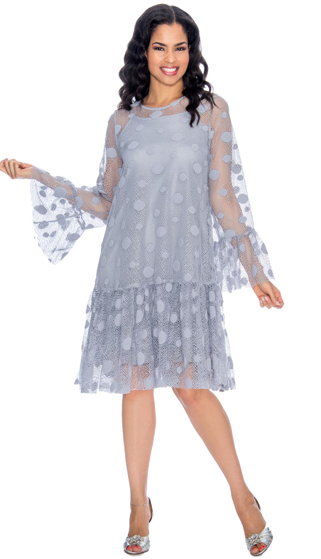 Giovanna Dress D1323-SIL