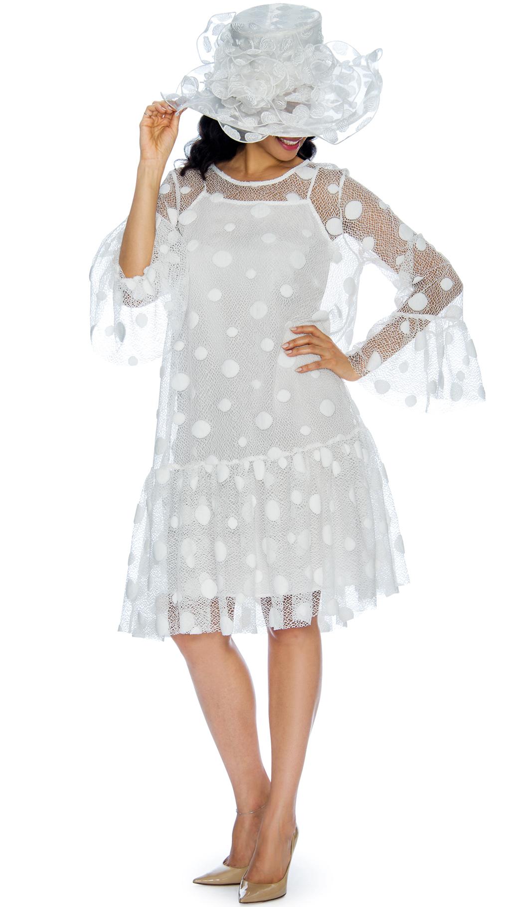 Giovanna Dress D1323-WH