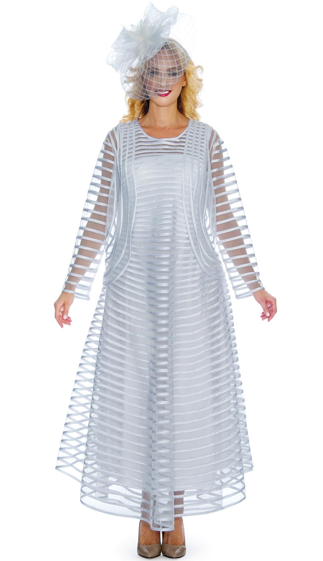 Giovanna Dress D1332-WH