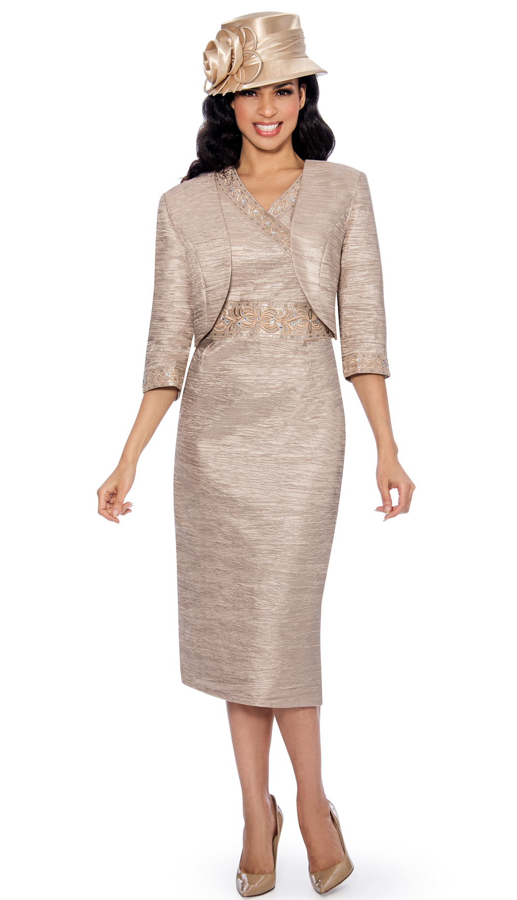 Giovanna Dress 1423B-CHA