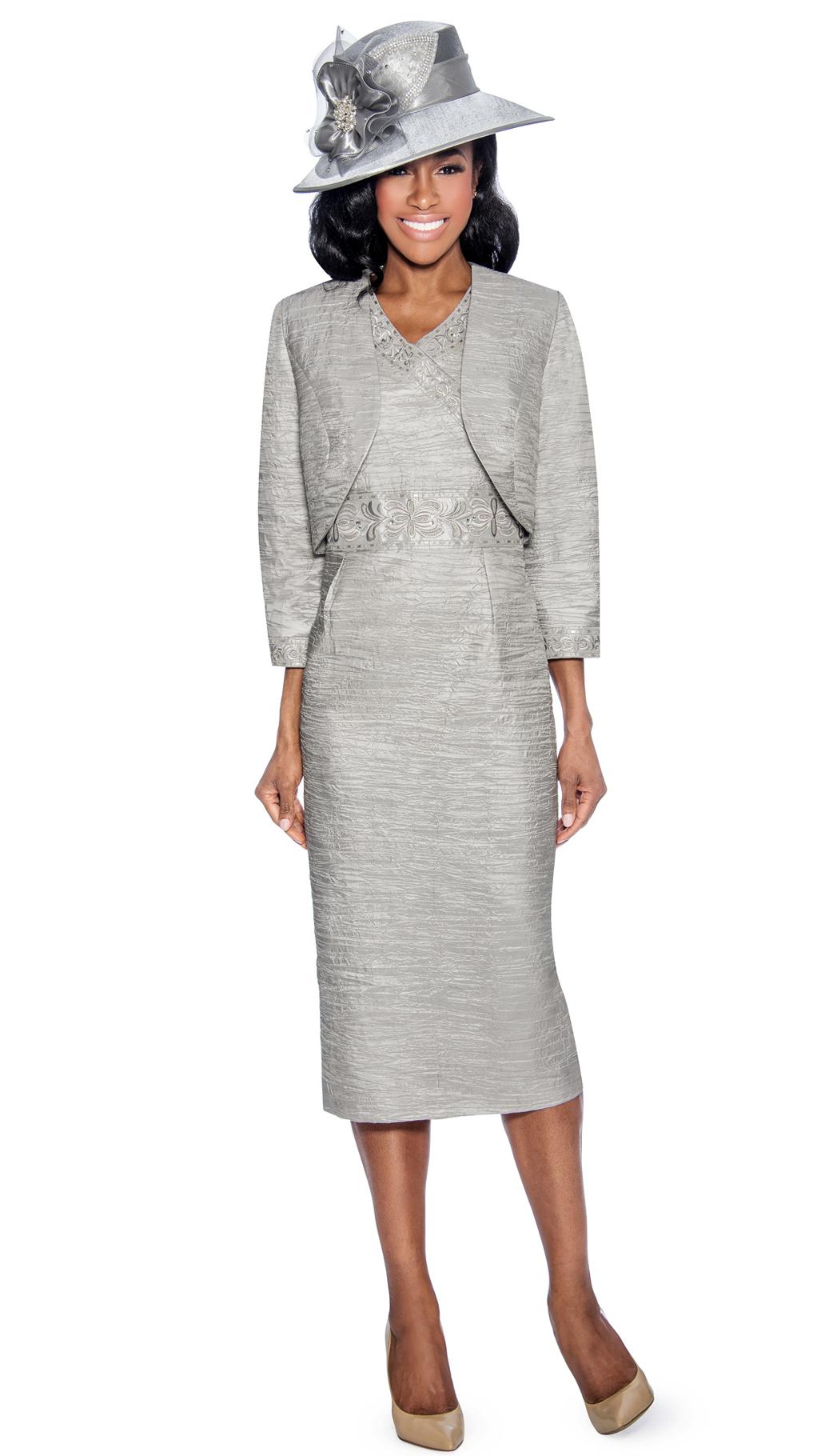 Giovanna Dress 1423B-SIL