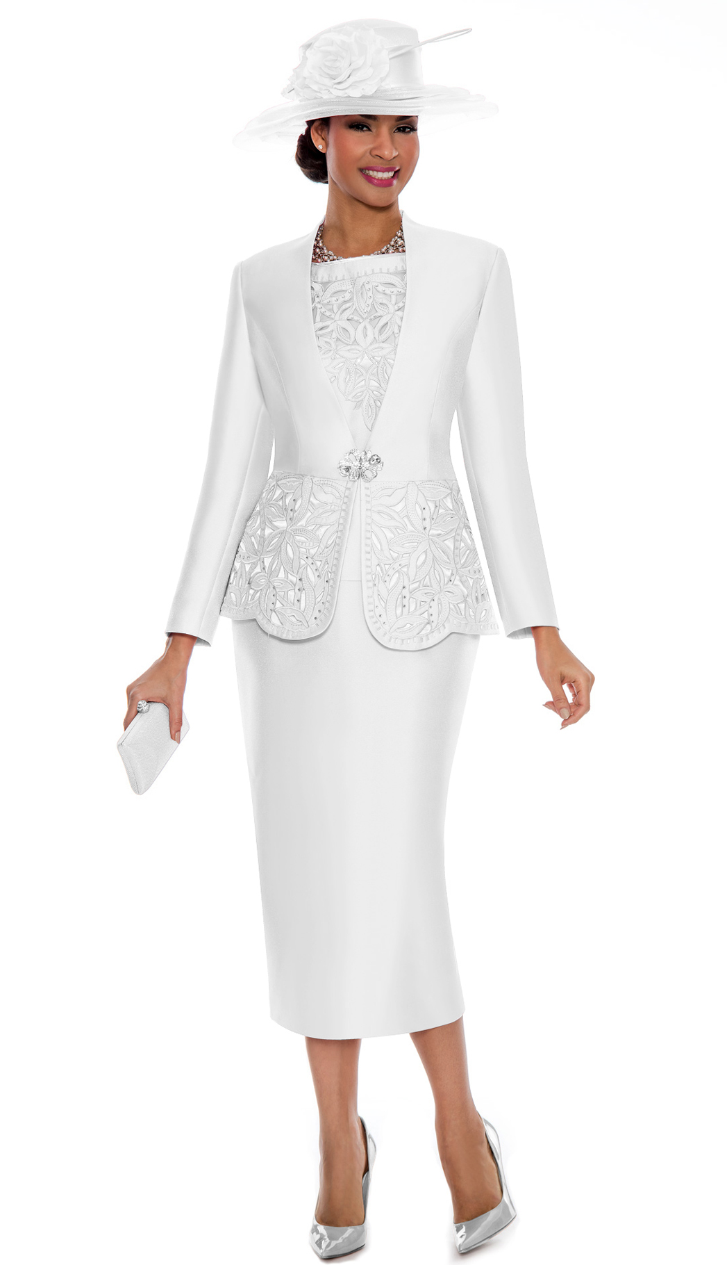 Giovanna Suit G1088-WH-CO