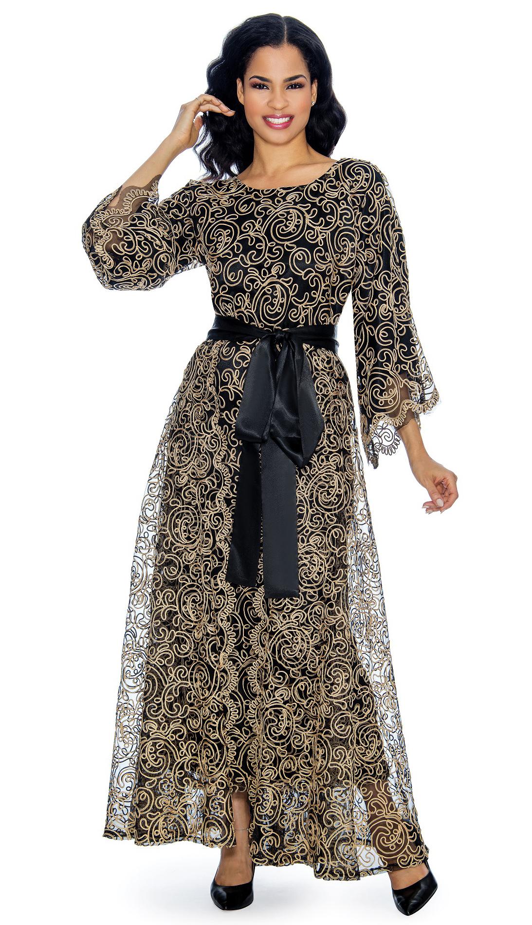 Giovanna Dress D1344-GO