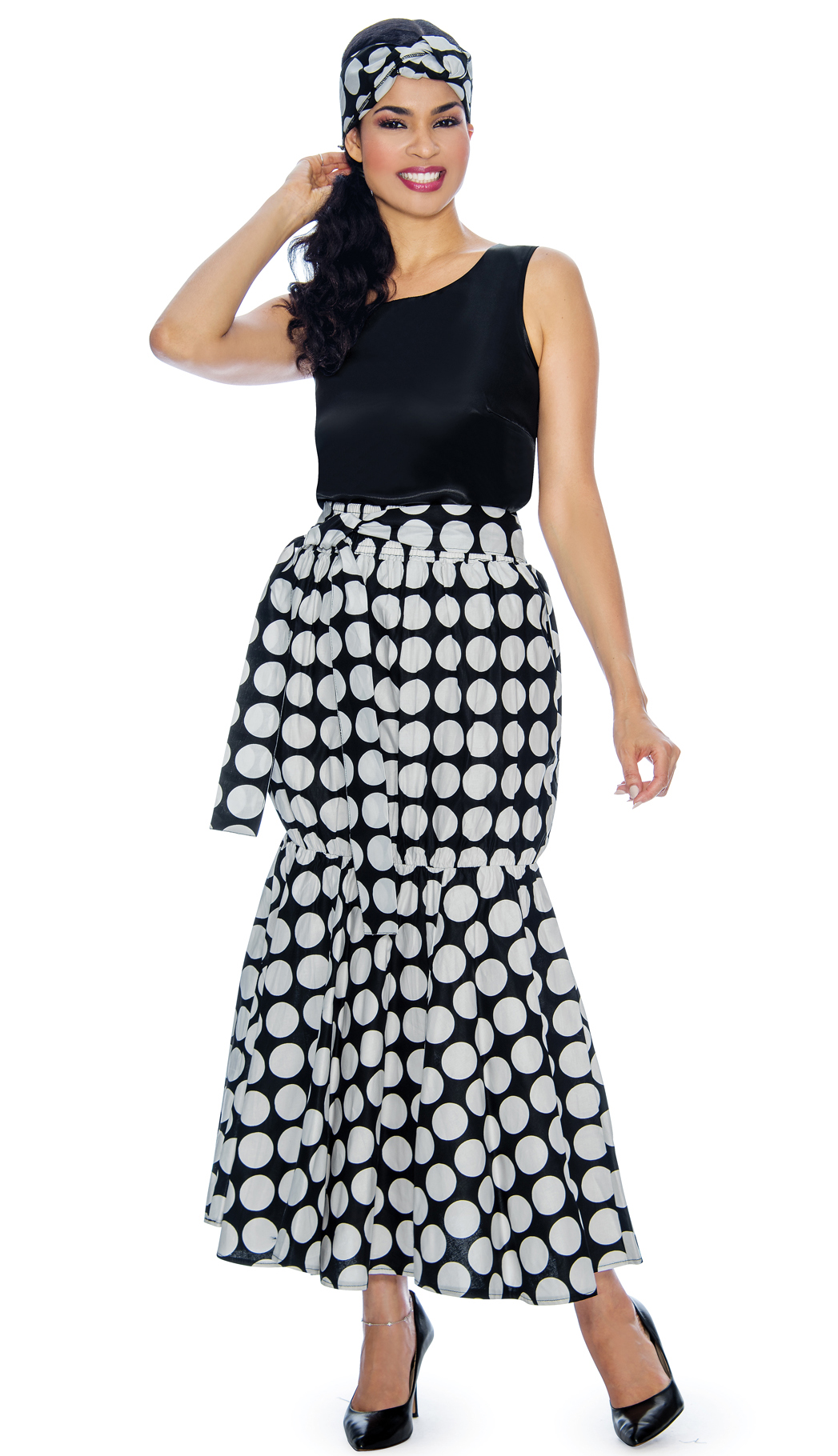 Giovanna Skirt P1013-BW
