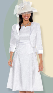 Giovanna 1456-OW-220  ( 2 pc Women Church Dress Fully Lined )