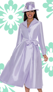 Giovanna 1435-LAV-IH  ( 1pc Shantung  Women Church Dress )