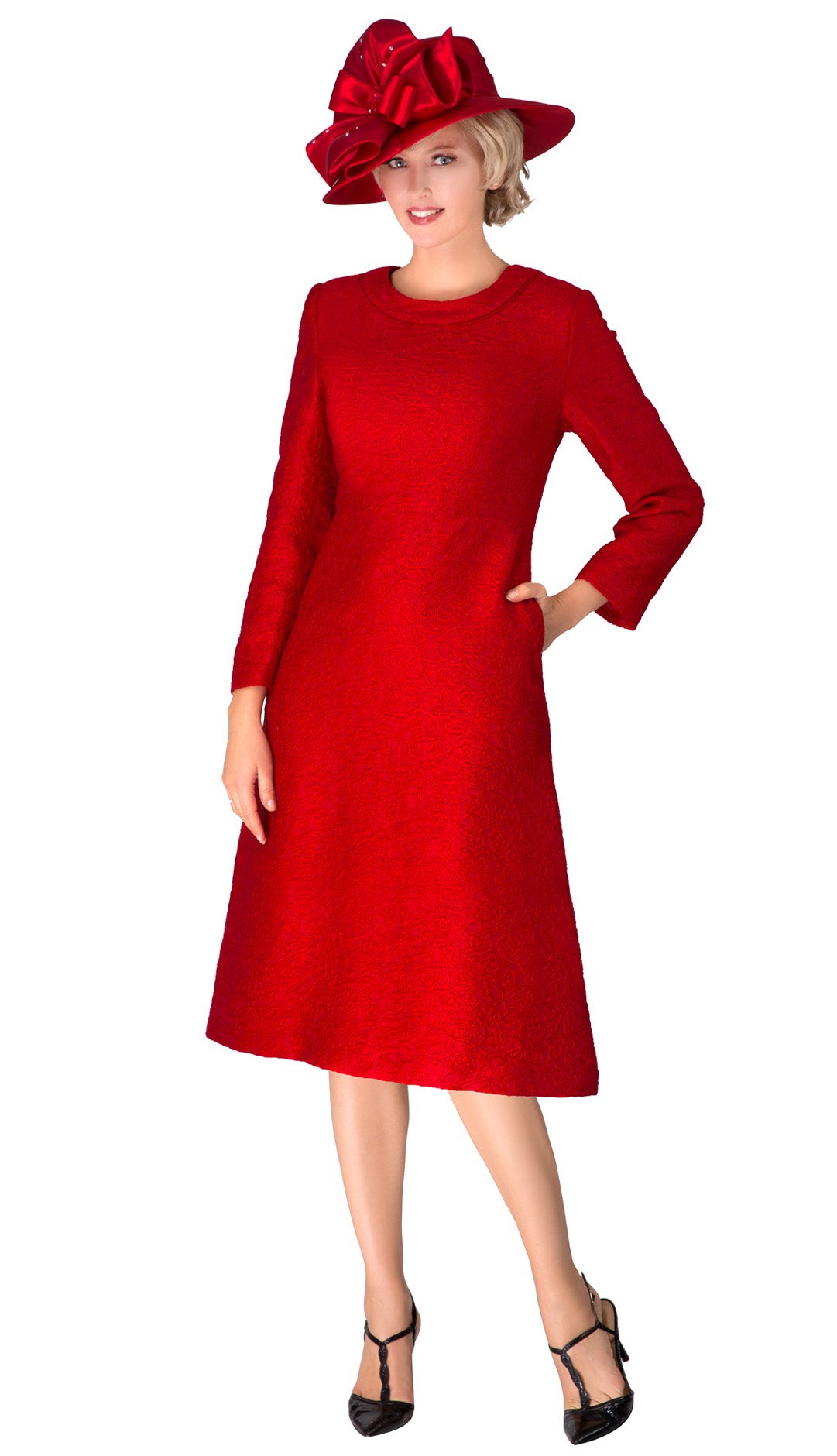 Giovanna D1521-RED-CO