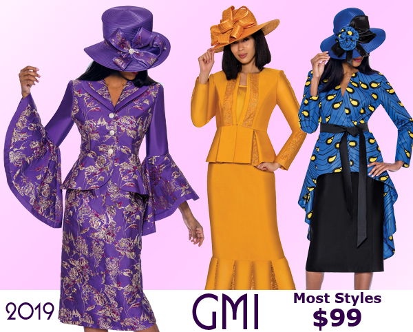 GMI Church Suits Spring and Summer 2019