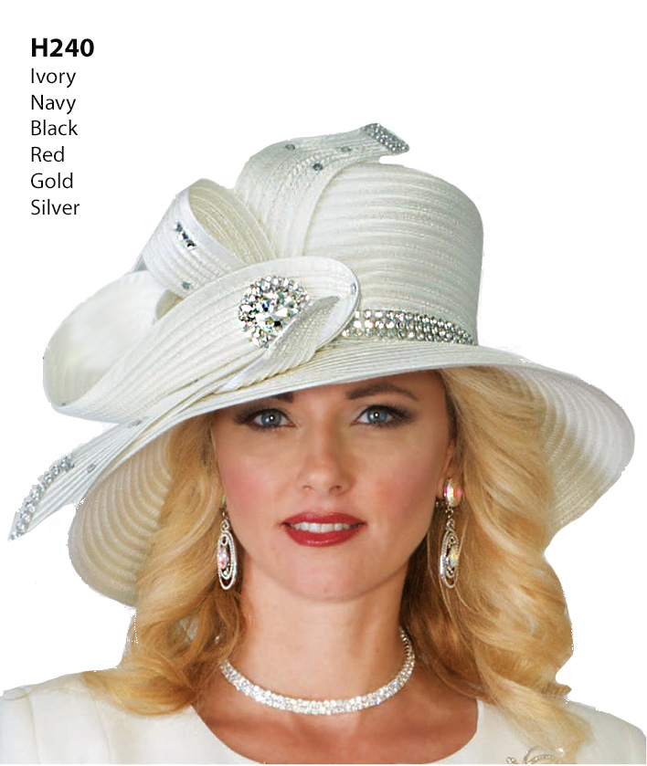 Lily and Taylor Hat H240