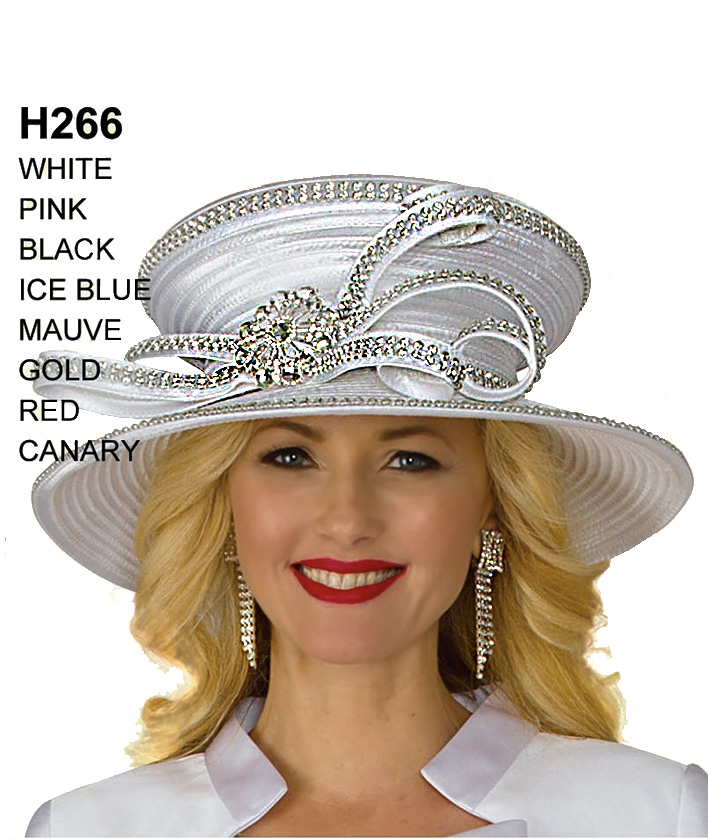 Lily and Taylor Hat H266
