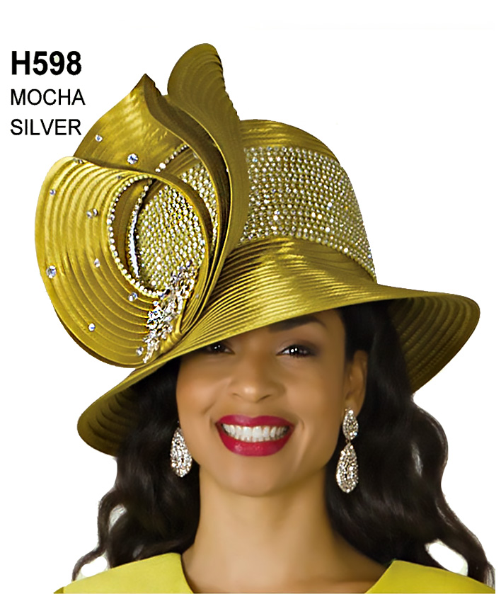 Lily and Taylor Hat H598
