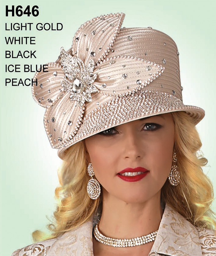 Lily and Taylor Hat H646