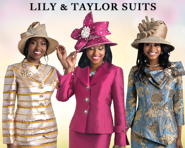 Lily and Taylor Suits