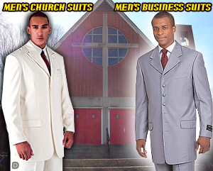 Mens Church And Business Suits