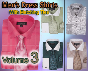 Mens Dress Shirts With Matching Tie Vol 3