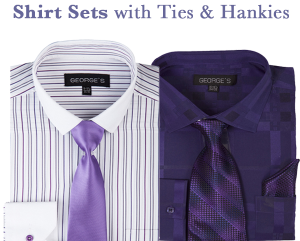 Mens Shirt Sets