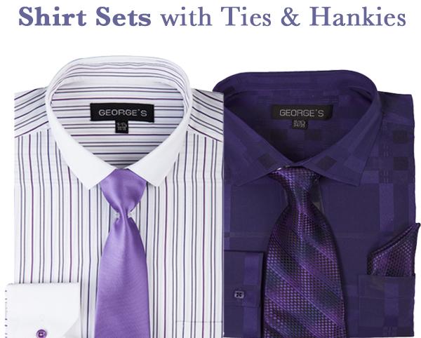 Mens Shirt Sets