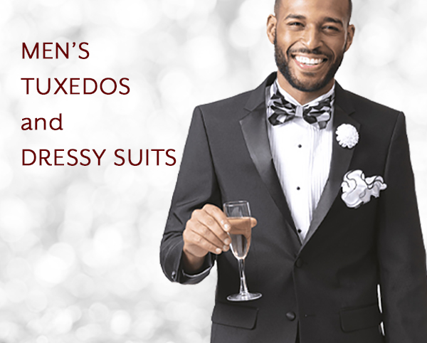 Mens Tuxedos and Dressy Suits