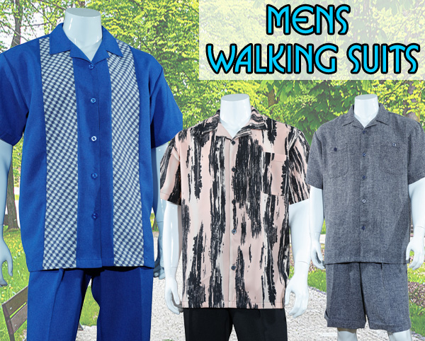 Mens Walking Suits