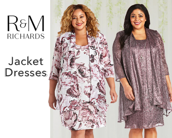 R and M Richards Jacket Dresses